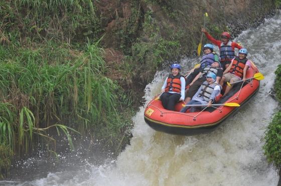 Rafting @Kasembon